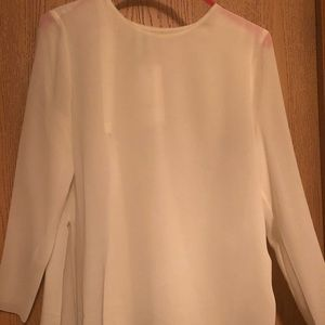 NWT DKNY Sheer Top, Size M
